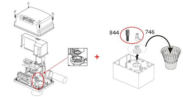 Schema Elettrico Cancello Automatico : Schema elettrico cancello automatico faac fare di una mosca